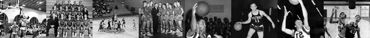 Westmont Warrior Basketball Images 1960s